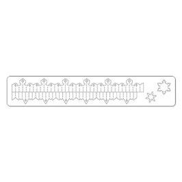 """Stanzschablone Sizzix Deco Strip """"Mini Snowflake Rosette"""""""