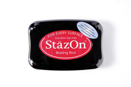 "StazOn Stempelkissen ""Blazing Red"""