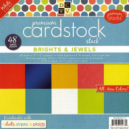 "Cardstock ""Brights & Jewels"""