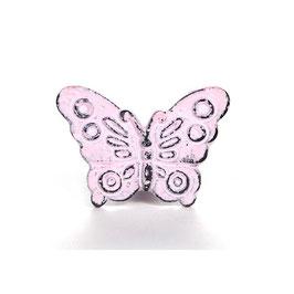 Möbelgriff V17, Schmetterling rosa