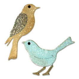 Stanzschablone Sizzix Bigz Die, Birds
