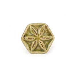Möbelgriff A202, Blüte Shabby grün, klein