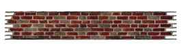 "Stanzschablone Sizzix Sizzlit Deco Strip ""Brick Wall"""