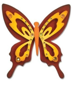 "Sizzix Thinlits Die, ""Butterfly"""