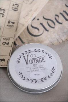 Jeanne d'Arc Living's Vintage Paint: Vintage wax white 50ml