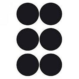 Tafelfoliensticker schwarz Kreis