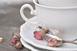 "Shabby-Chic-Karte ""Tea for two"""