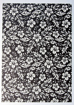 Bedrucktes Transparentpapier T3