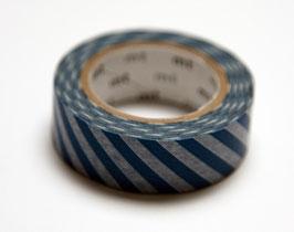 """Masking Tape """"blau, quergestreift"""""""