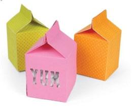 Stanzschablone Sizzix Movers & Shapers L Die - Box, Milk Carton