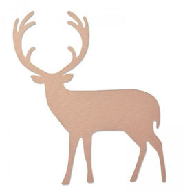 Sizzix Thinlits Die - Proud Deer
