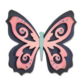 "Sizzix Thinlits Die, ""Butterfly Nr2"""