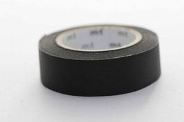 Masking Tape schwarz uni