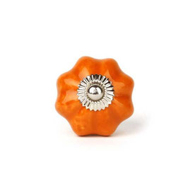 Möbelgriff A74a, sternförmig, orange