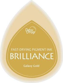 Pigmentstempelkissen Tropfen Brilliance, klein, Galaxy Gold