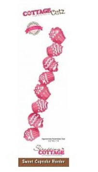 """Sizzix Stanzschablone Scrapping Cottage """"Sweet Cupcake Border""""  (CCE-092)"""