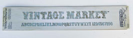 Alphabet  Vintage Market