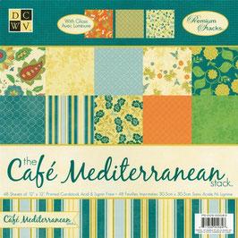 "Papierset ""The Café Mediterranean"""