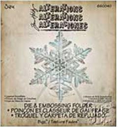 Stanzschablone Sizzix Bigz Die, Layered Snowflake