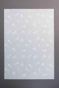 Bedrucktes Transparentpapier Röseli T8
