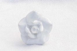 Möbelknopf B2, Rose weiss 60078N