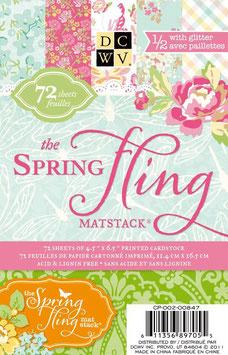 "Cardstock Matstack ""Spring Fling"""