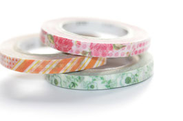 "Masking-Tape-Set 3 schmale Rollen ""Cool"""