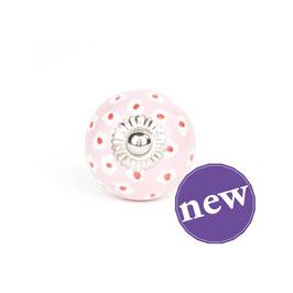 Möbelknopf A8, Ringelblume rosa