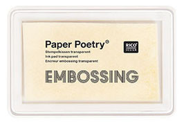 Embossing-Stempelkissen transparent