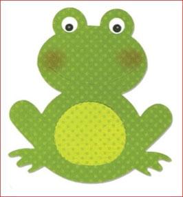 Stanzschablone Sizzix Bigz Die, Frog #2