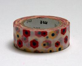 "Masking Tape ""Farbenfrohe Blumen"""