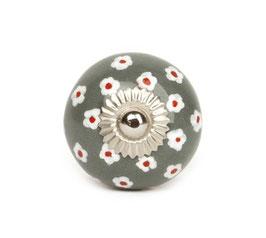 Möbelknopf A5 Ringelblume dunkelgrau