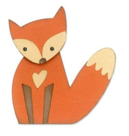"Sizzix Thinlits Die, ""Fox """