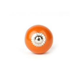 Möbelknopf A89, klein, rund, orange