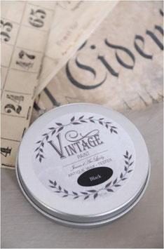 Jeanne d'Arc Living's Vintage Paint: Vintage wax black 50ml