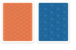 """Sizzix Textured Impressions Embossing Folders, """"Palace Set"""""""