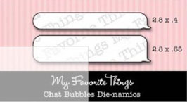 "Sizzix Stanzschablone Die-namics ""Chat Bubbles"" (MFT-137)"