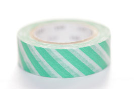 "Masking Tape ""grün quergestreift"""