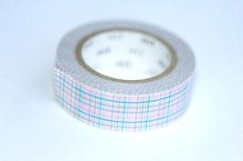 Masking Tape Karo rosa/blau