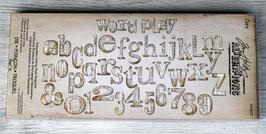 Sizzix World Play Alphabet Bigz XL Die Tim Holtz