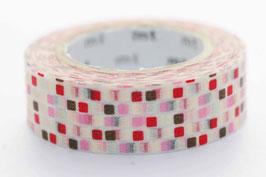 """Masking Tape """"Kacheln rosa"""""""
