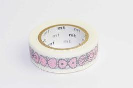 "Masking Tape ""Farfallina rosa"""