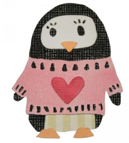 Sizzix Thinlits Die Set 6Teile - Friendship Penguin