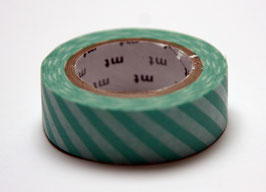 "Masking Tape ""mint, quergestreift"""