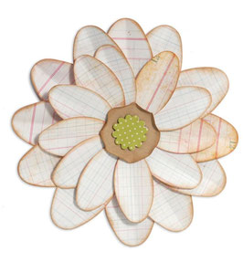 "Sizzix Big Shot Stanzschablone Bigz Die ""flower petal power"""