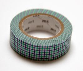 """Masking Tape """"Gitter violett-grasgrün"""""""