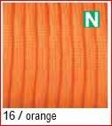 Paracord reflektierend 4mm, orange 16