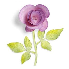 "Sizzix Sizzlits ""Flower, 3-D & Vine"""