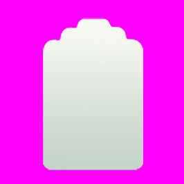 Stanzer Etikett 5.7 x 3.8 cm