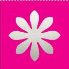 Stanzer L Gänseblümchen, ca. 3.8 cm